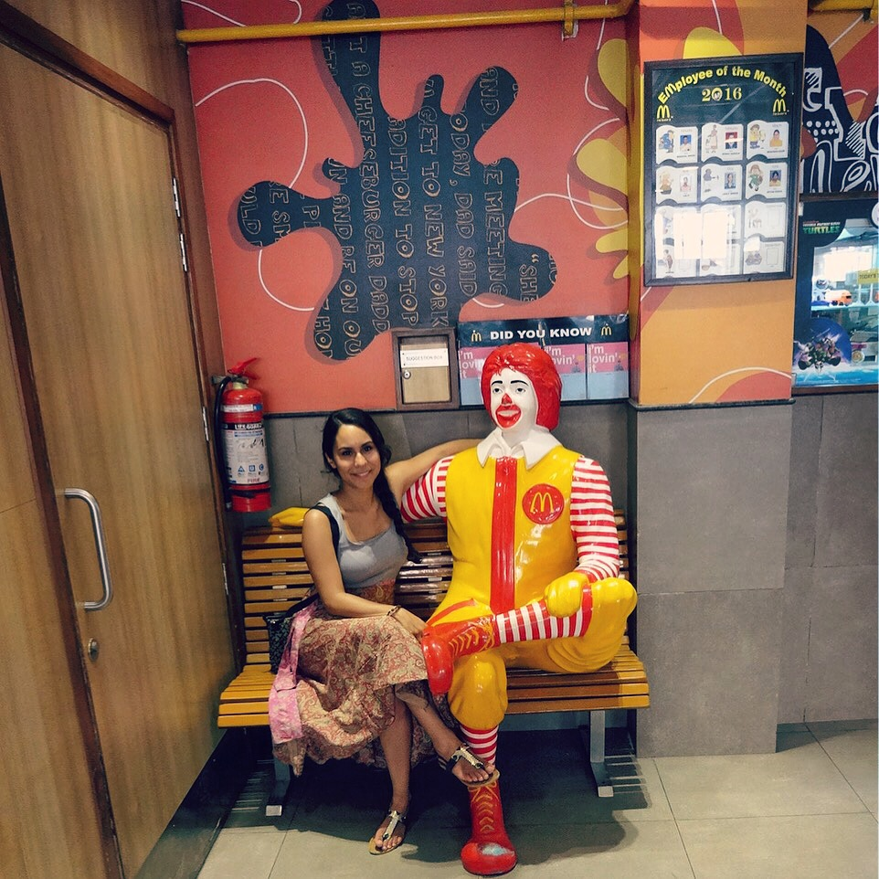 INDIA Golden Temple McDonalds