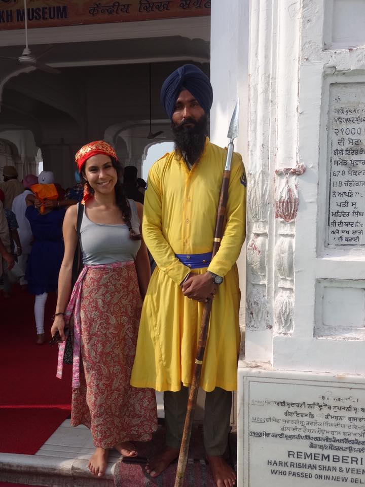 INDIA Golden Temple guard