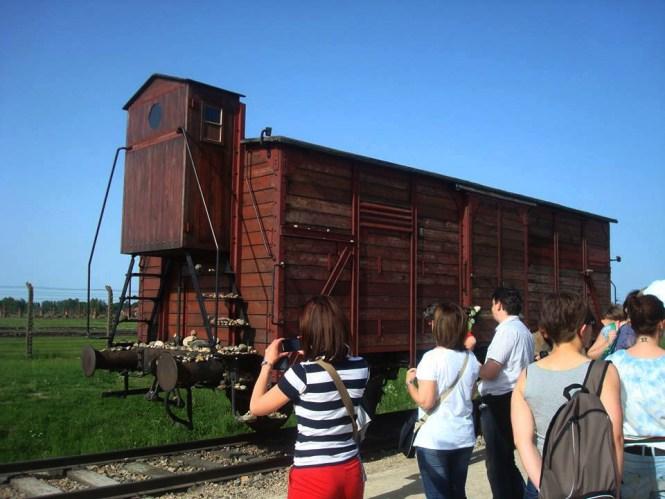 Europe - Poland - Auchwitz-Birkenau - train wagon
