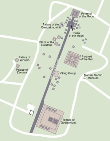 Teotihuacan Map