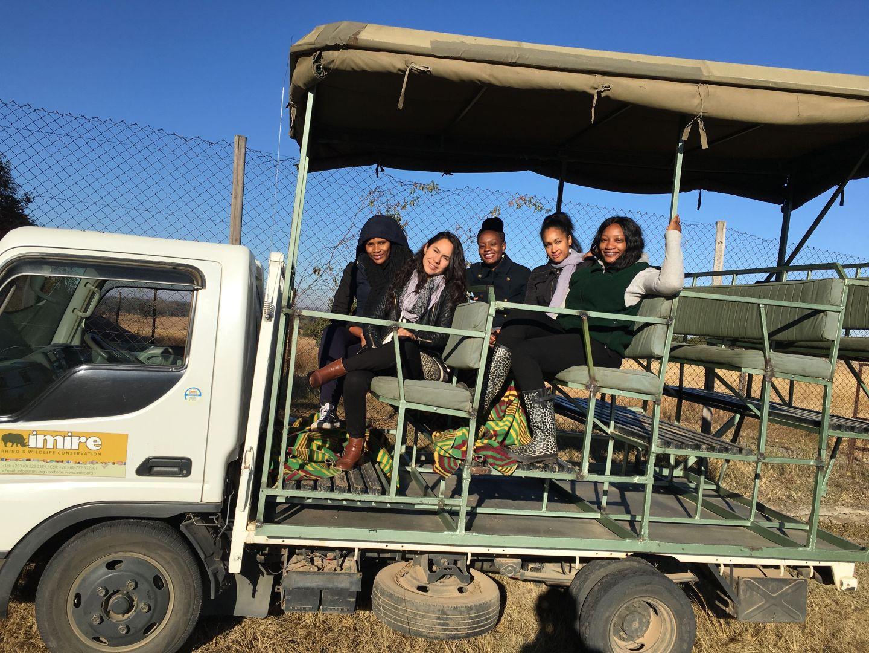 Africa - Zimbabwe - Imire Game Park - Safari truck