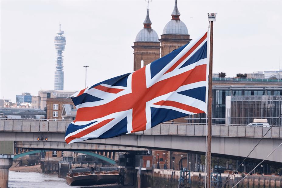 England - London - Flagge - Arbeiten im Ausland - Au Pair