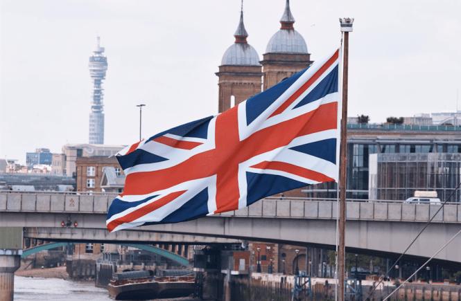 Inglaterra - Londres - Bandera - Trabajar en el extranjero - Au Pair