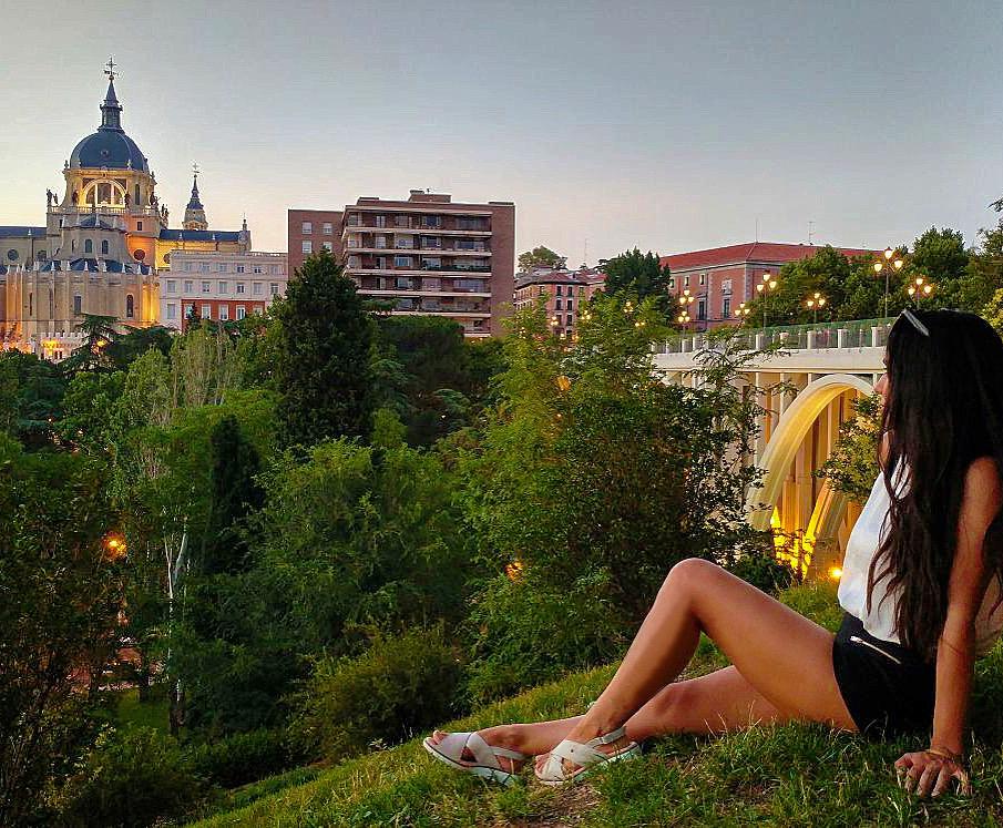 Spain Madrid Catedral Almudena