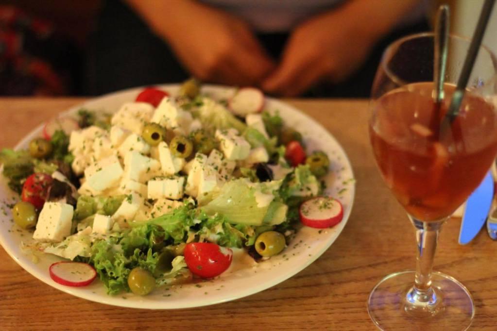 Salad - Restaurant - Vienna - Austria