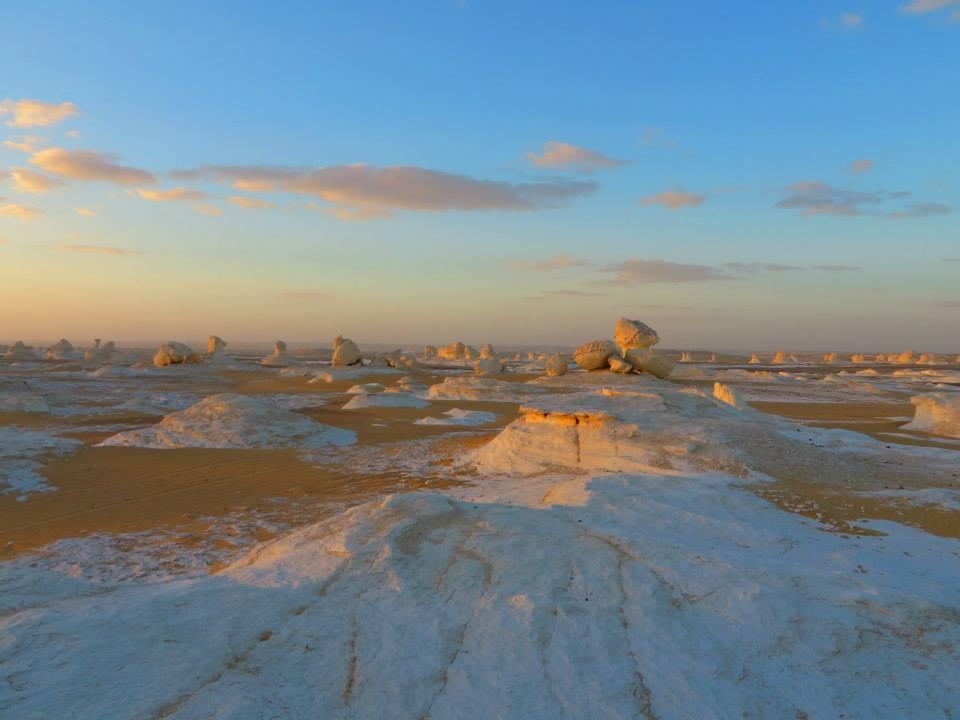 Egypt White Desert Africa