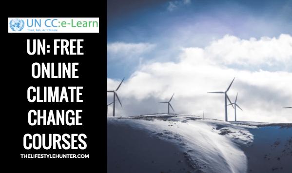 Online courses - UN climate change