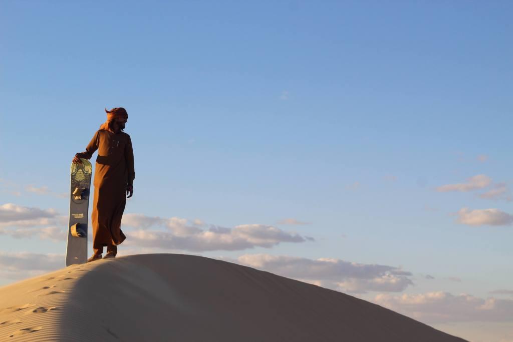 Sandboarding Egypt Africa