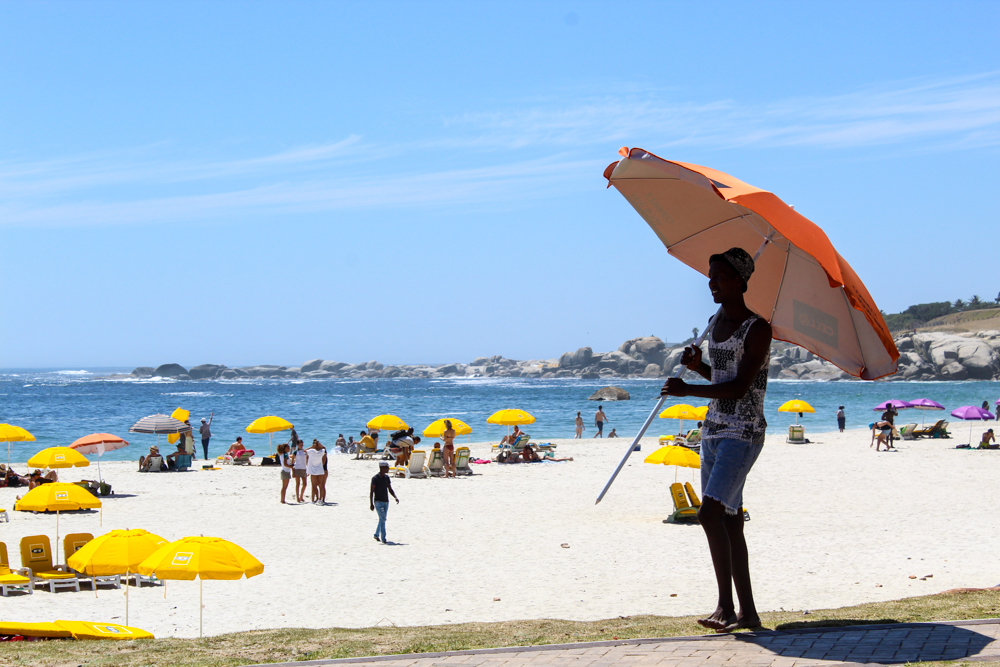 Sunbathing - Camps Bay - Cape Town - South Africa