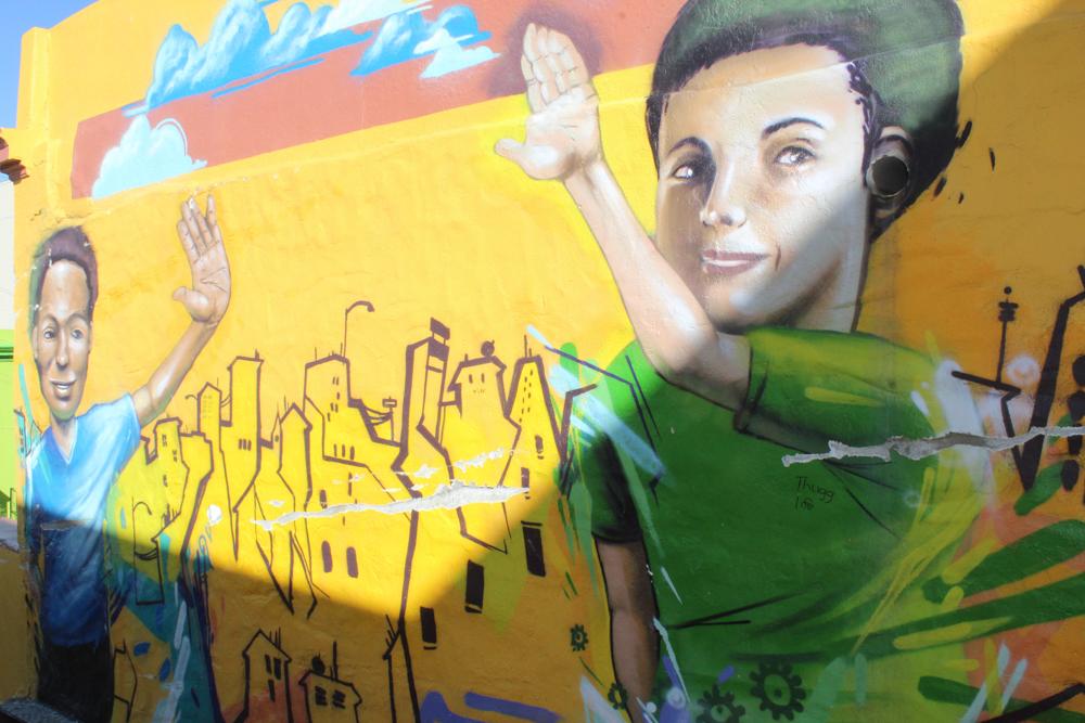 car Boo-Kaap Cape Town South Africa art