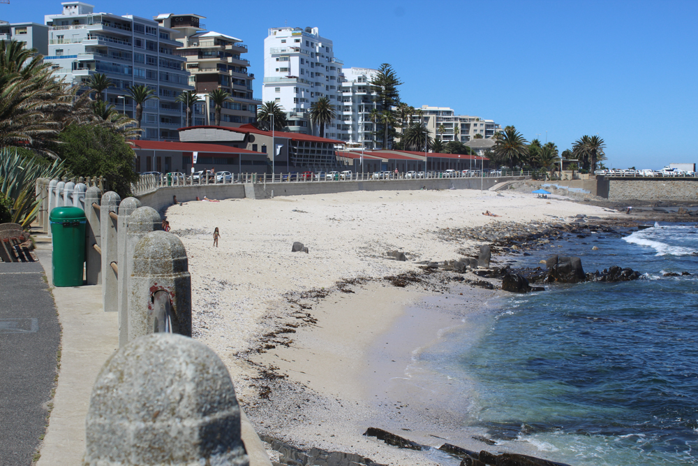 Sea Point - Cape Town - South Africa - Sunset beach