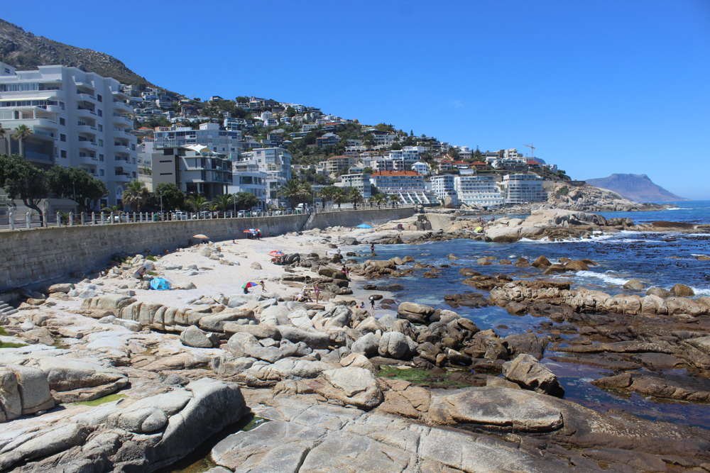 Sea Point - Cape Town - South Africa- Saunders Rock Beach