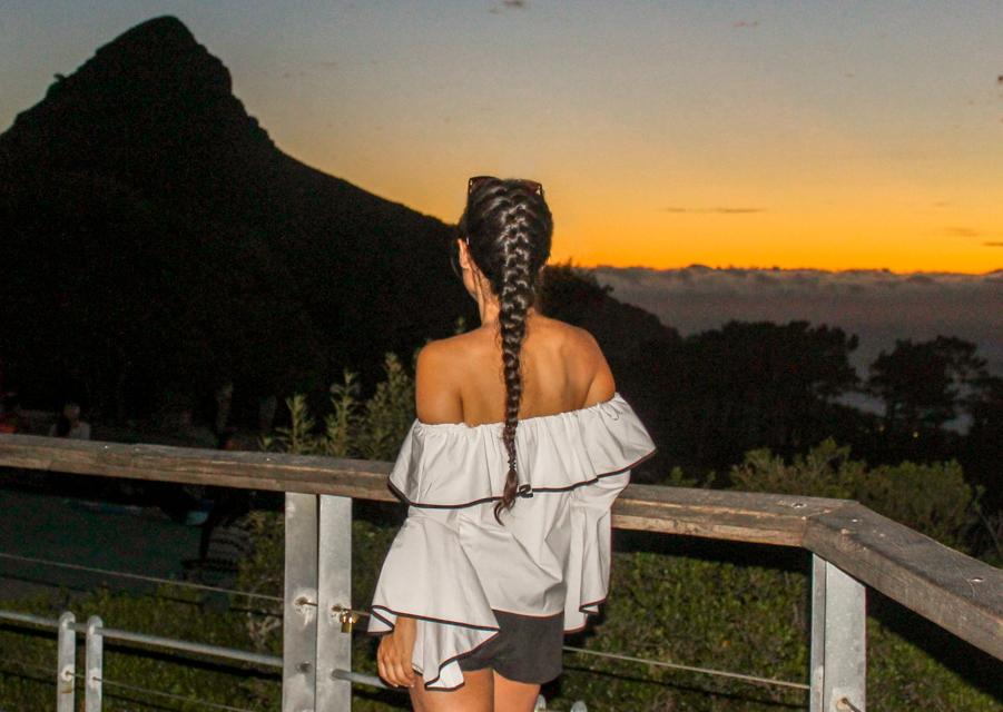 Signal Hill: Sundowner, Paragliding und Wandern in Kapstadt, Südafrika