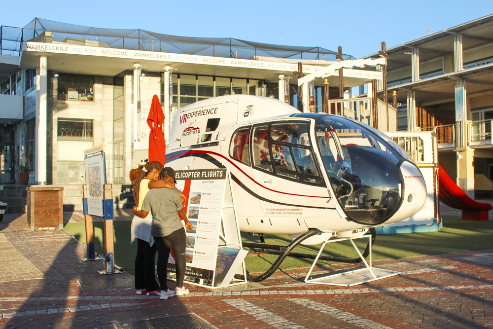 helicopters - Waterfront - Cape Town - South Africa
