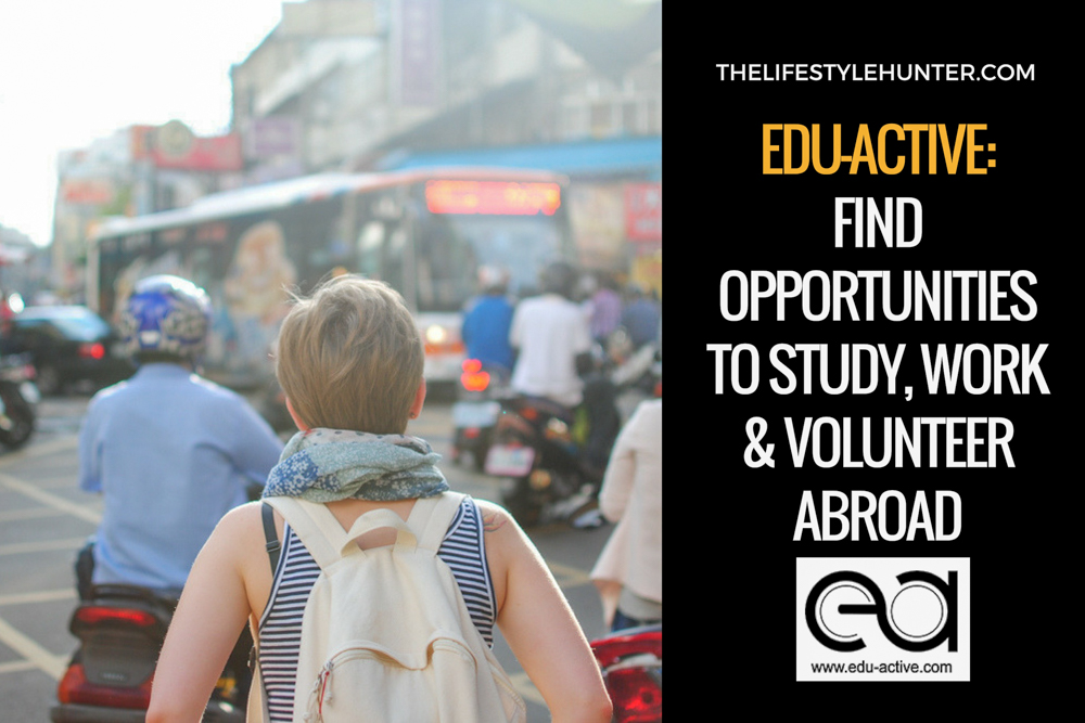 Edu-Active: find opportunities to study, work, and volunteer abroad