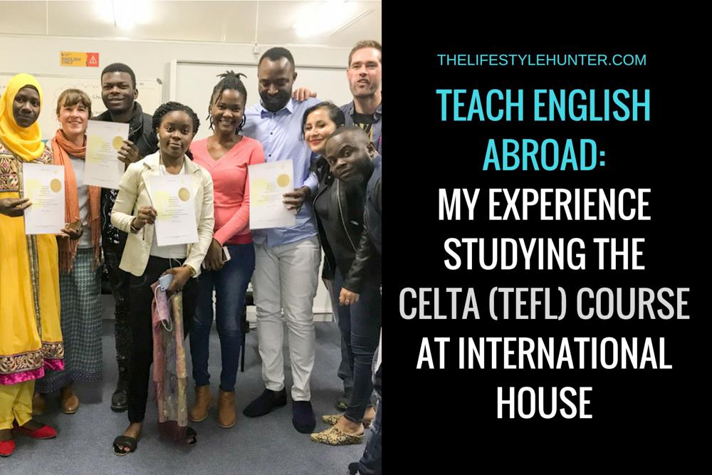 Work Abroad - TEFL - CELTA