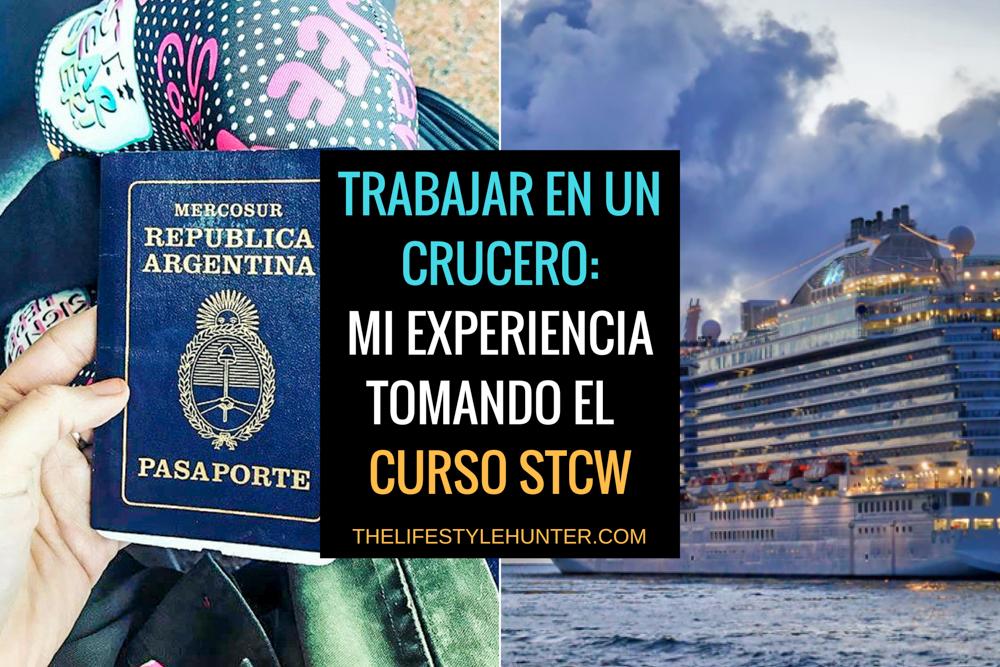 Trabajar en un crucero: mi experiencia tomando el curso STCW