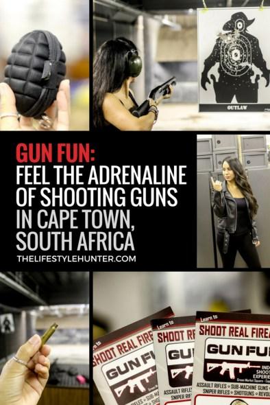 Travel - Africa - South Africa - indoor shooting - Cape Town - Gun Fun