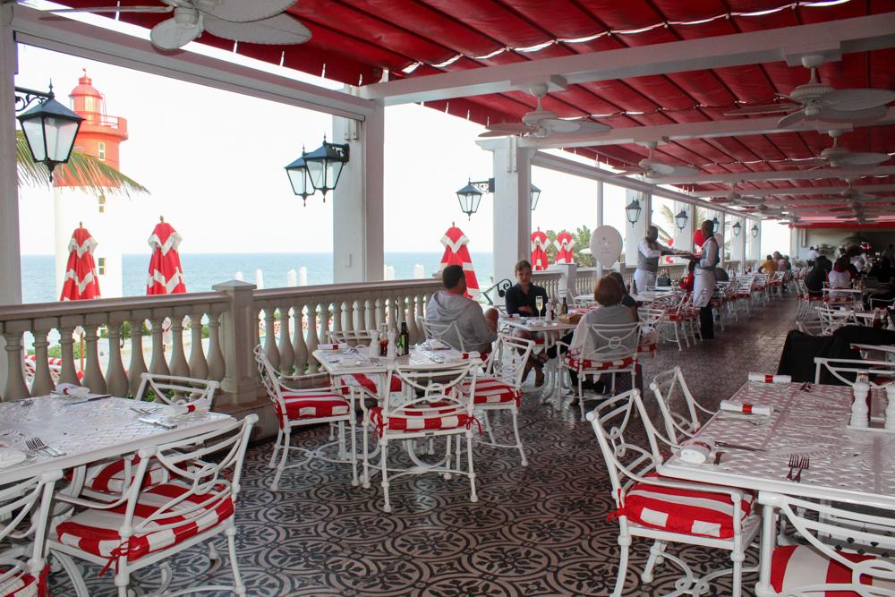 Oyster Box Hotel Ocean Terrace - Durban - South Africa