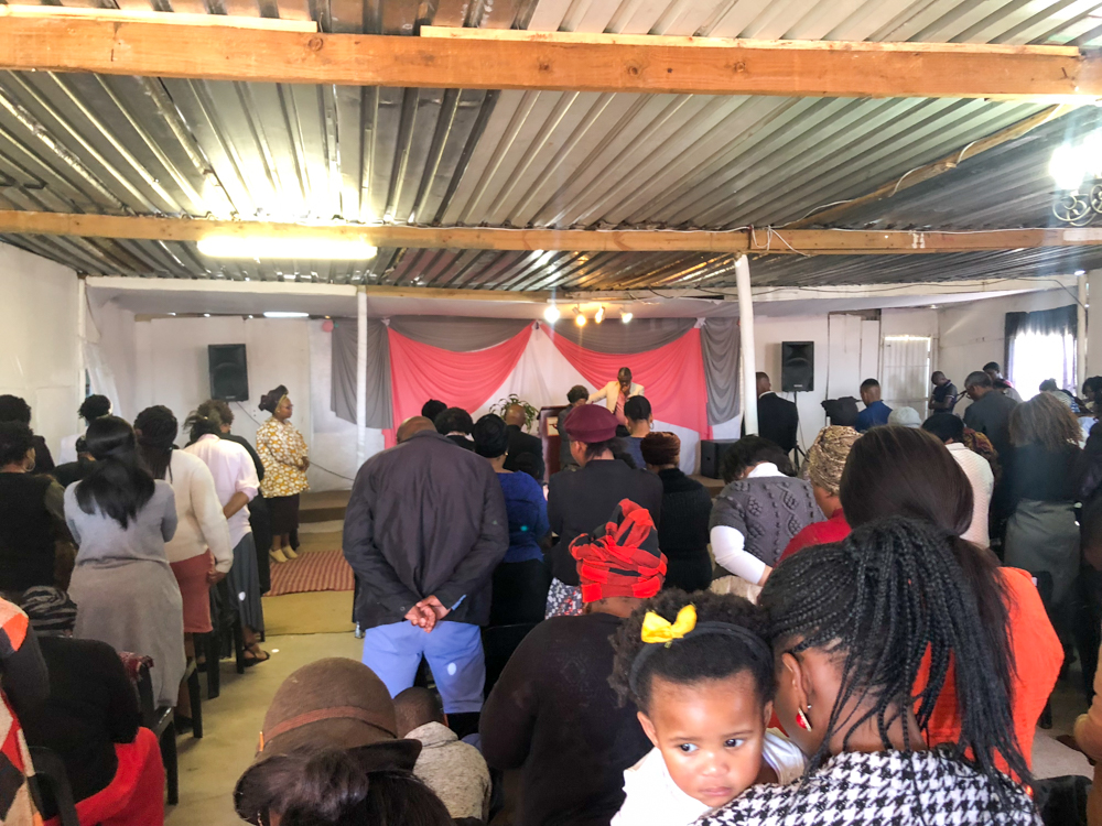 Township tour - church - Khayelitsha - IMZU tours - cape town - south africa