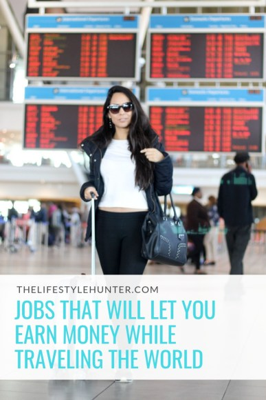 Work abroad - Jobs that will let you earn money while traveling the world