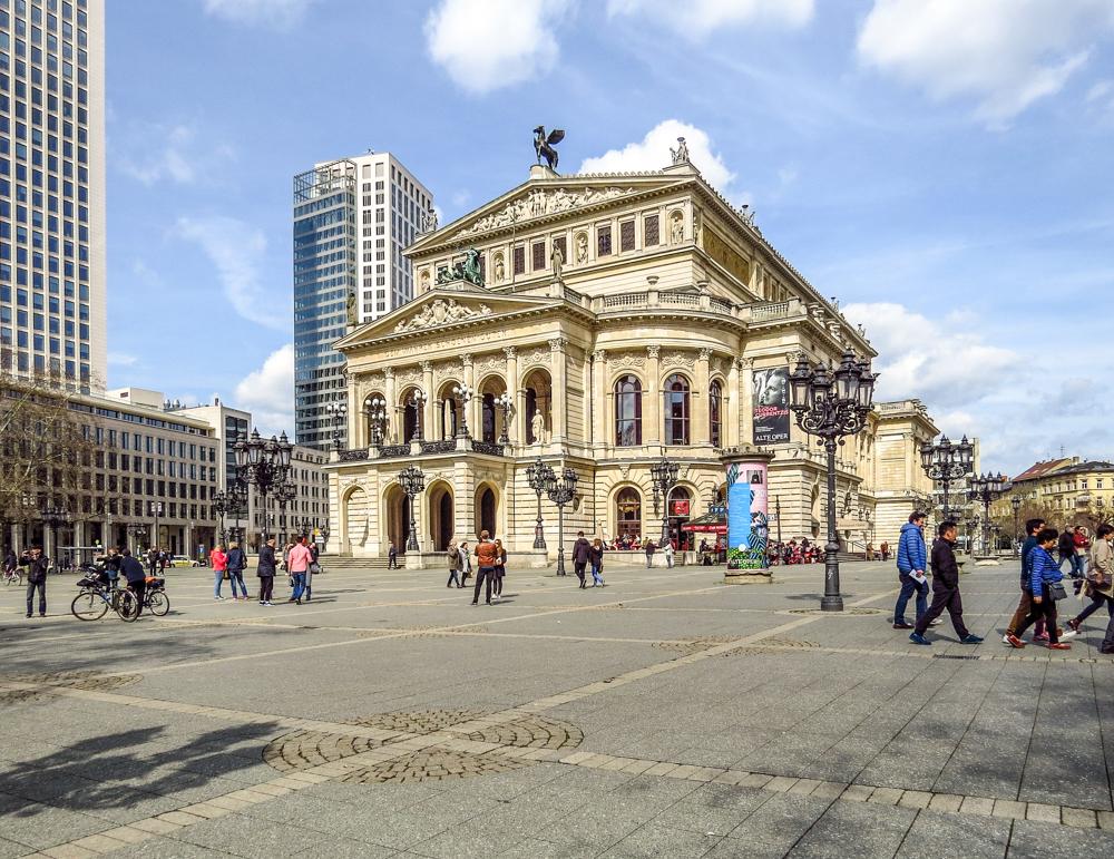 Alte Oper Frankfurt Germany