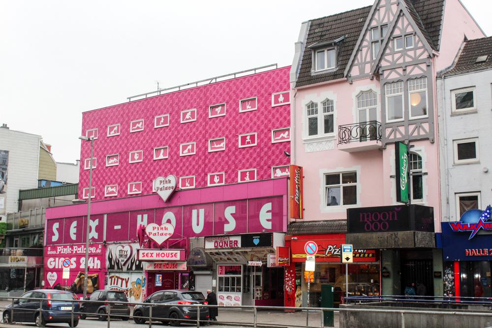 Hamburg - Germany - Europe Reeperbahn