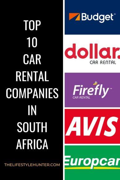 car rental companies cape town johannesburg south africa
