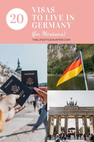 Visas germany mexicans
