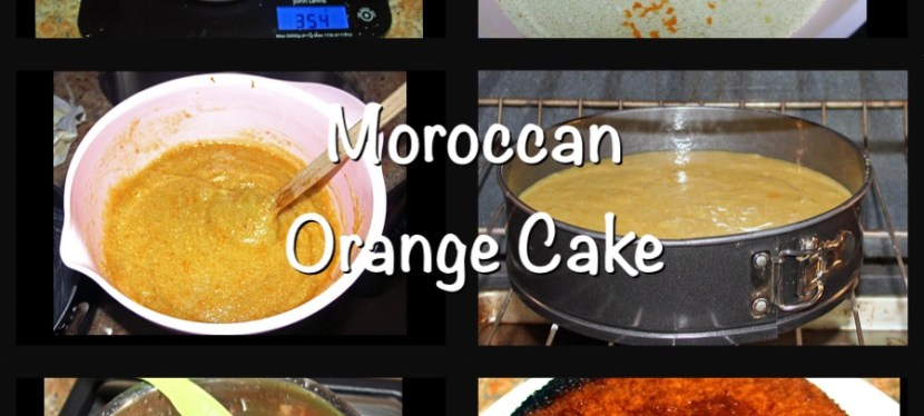 A Family Cake – Moroccan Orange Cake