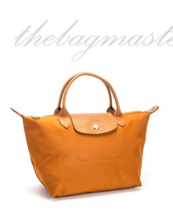 Longchamp Le Pliage Neo Small Shorthandle- Mustard