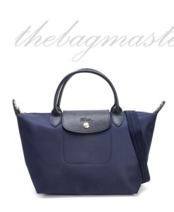 Longchamp Le Pliage Neo Small Shorthandle- Navy blue