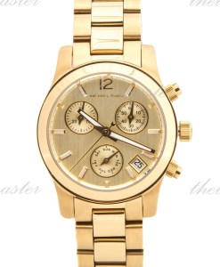 Michael Kors Mini Runway Gold Tone Multifunction Watch MK5384
