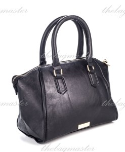 Mango Touch Bow Tote Bag - Black