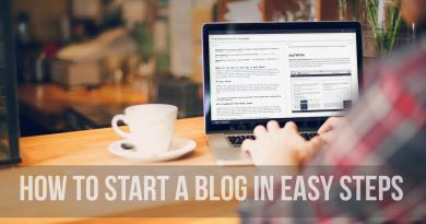 Beginner's Guide How To Start A Blog In Easy Steps