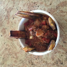 Cuban Stew with Plantains