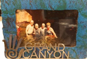 This picture dates back to days when I was flaring before I was diagnosed with MS. I was lucky to spend the week with my mom, father-in-law and brother-in-law rafting down the Grand Canyon.