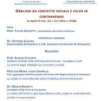 """UMG: al via il Convegno sugli """"Obblighi da contatto sociale e culpa in contrahendo"""""""