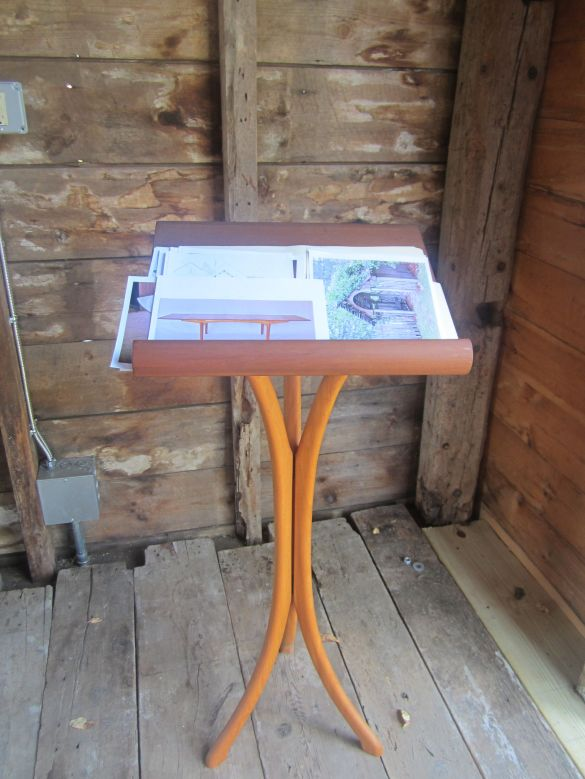 Pdf Folding Wooden Music Stand Plans Plans Diy Free