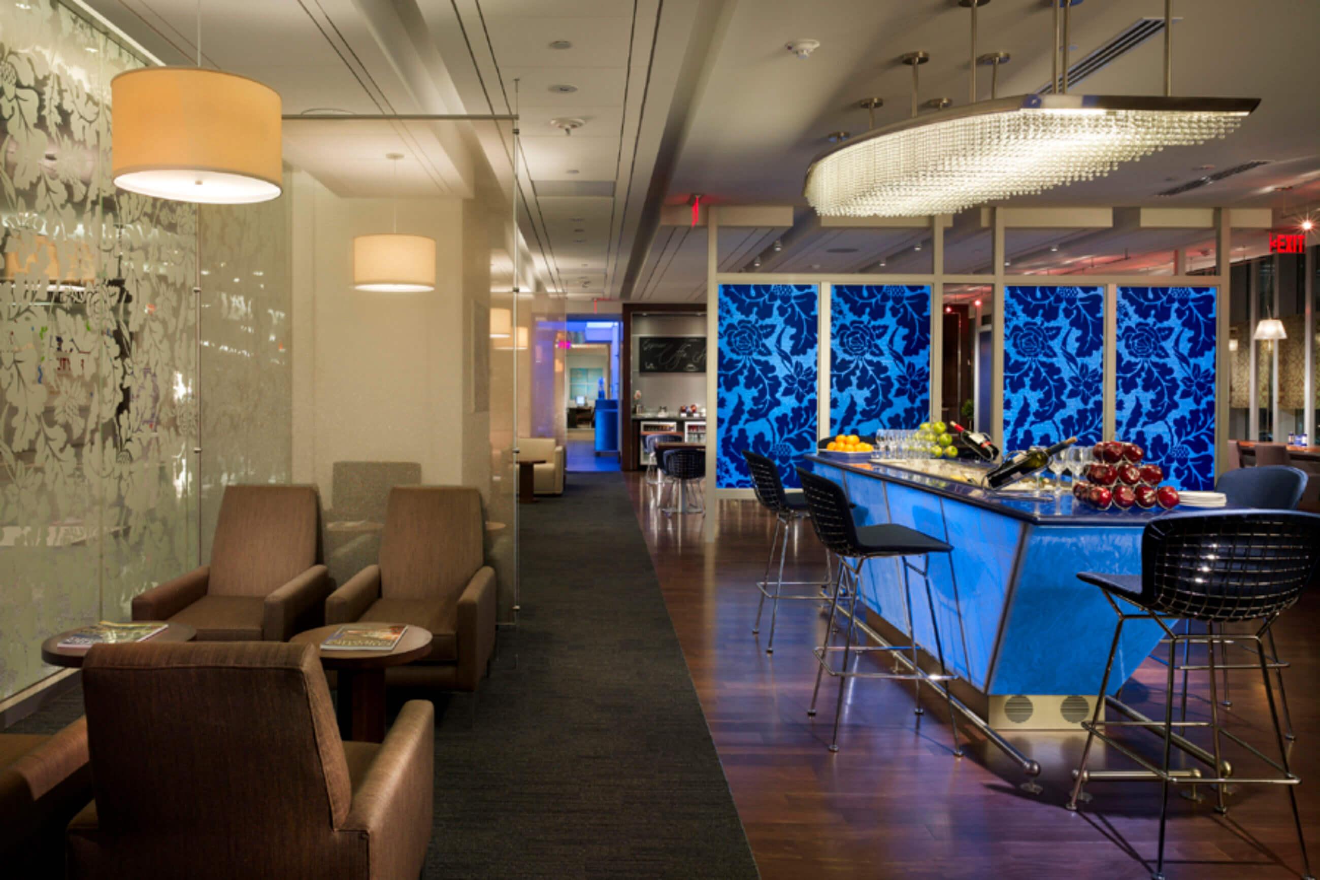 British Airways First Class Lounge At Philadelphia