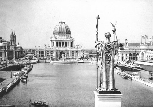 "The ""White City"" of the World's Columbian Exposition."