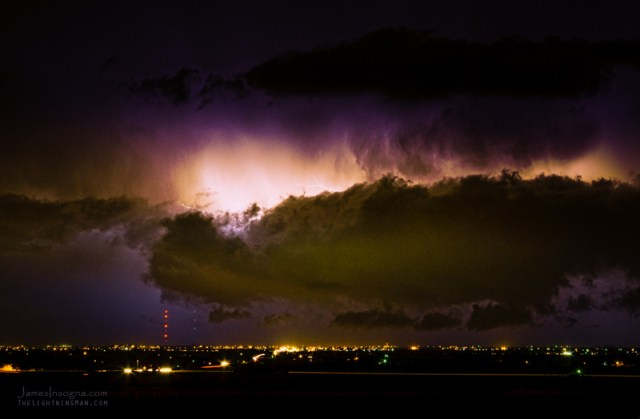 Lightning Thunderstorm Cloud Burst fine art photography print and canvas