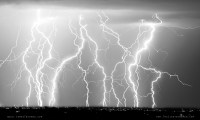 Electric Skies in Black and White Lightning Photography ...