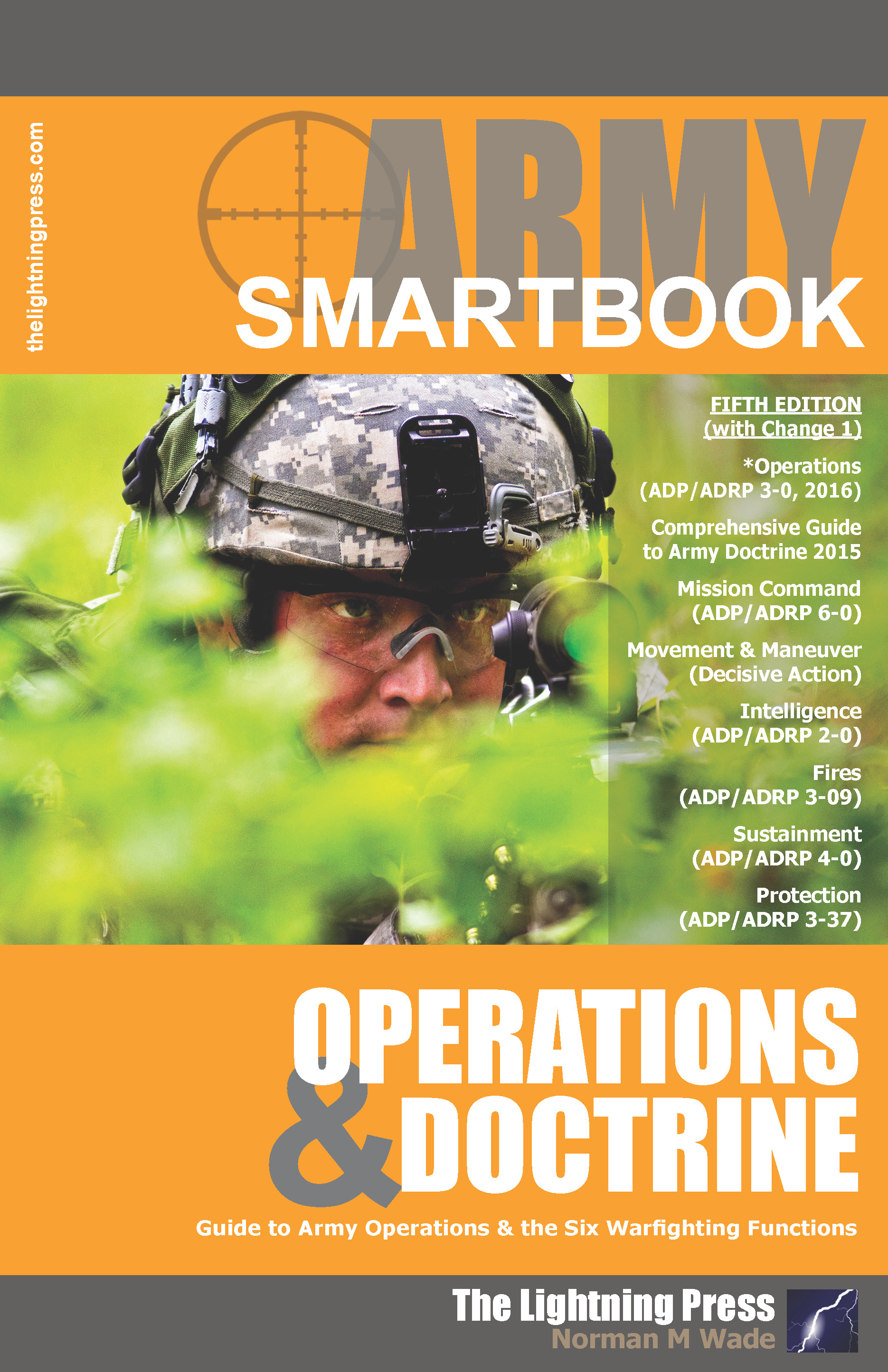 Aods5 The Army Operations Amp Doctrine Smartbook 5th Ed W