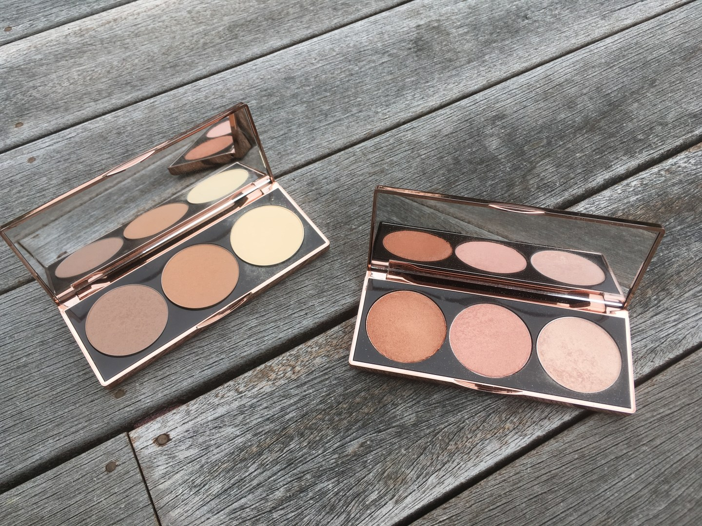 The Nude By Nature Contour and Highlight Palettes
