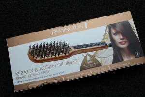 The Remington Argan Oil and Keratin Nourish Straightening Brush
