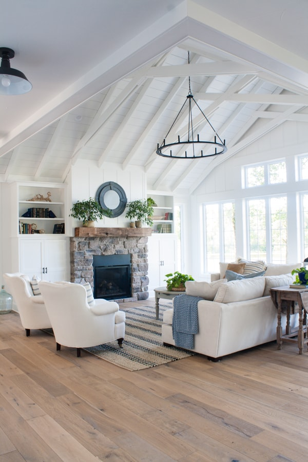Lake House Living Room Decor  The Lilypad Cottage