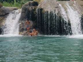 Swimming in Siquijor