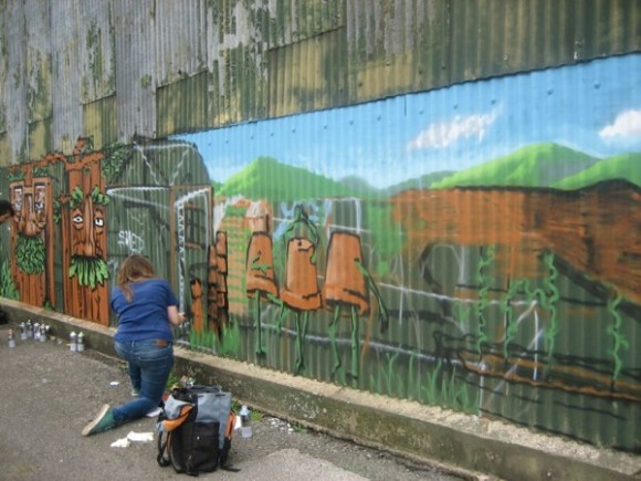 chris and mural 063