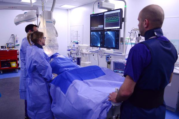 Inside the Lincolnshire Heart Centre. Photo: Steve Smailes for The Lincolnite